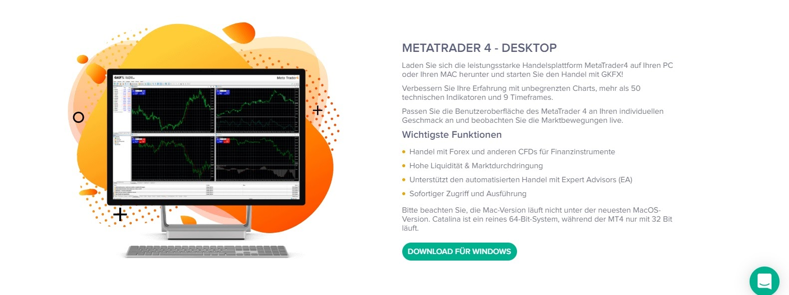 GKFX Metatrader Software Download