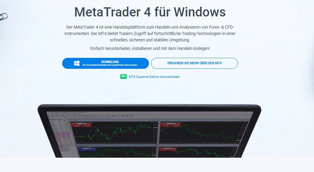 Admiral Markets MetaTrader 4 für Windows