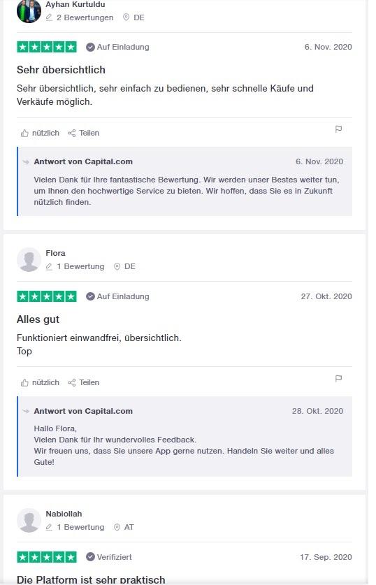 Capital.com Exchange customer experience
