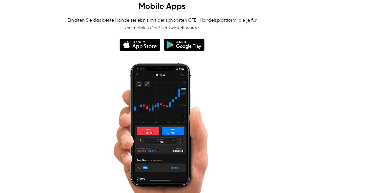 Téléchargement de l'application mobile Capital.com Trading