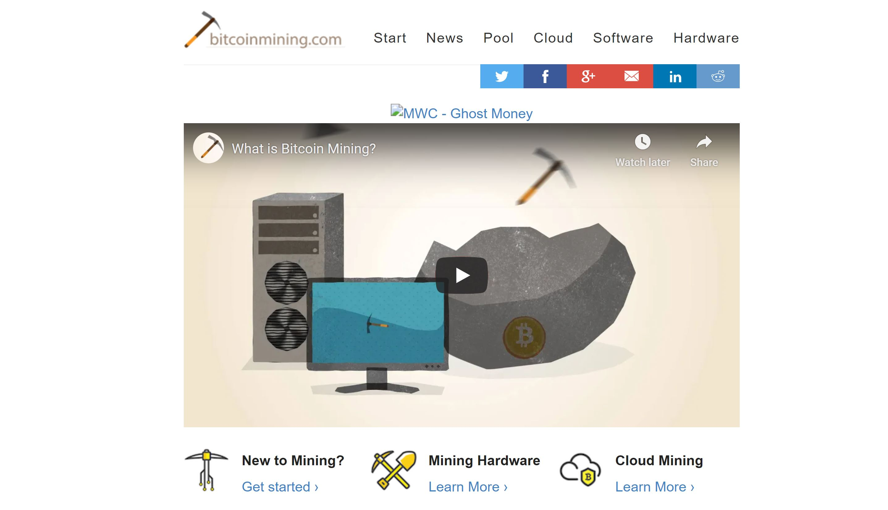 Bitcoin Mining Website and Guide