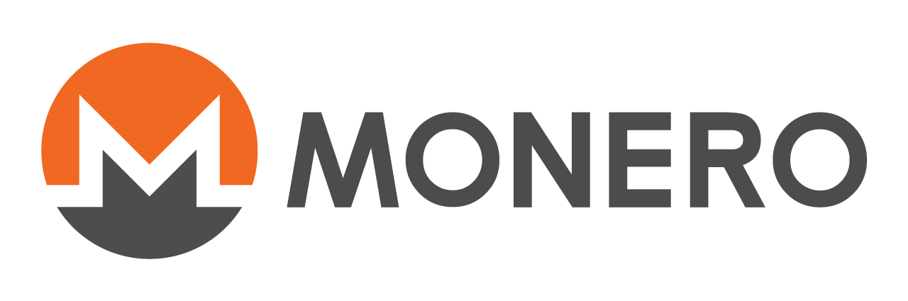 Monero logo in big size with a white background