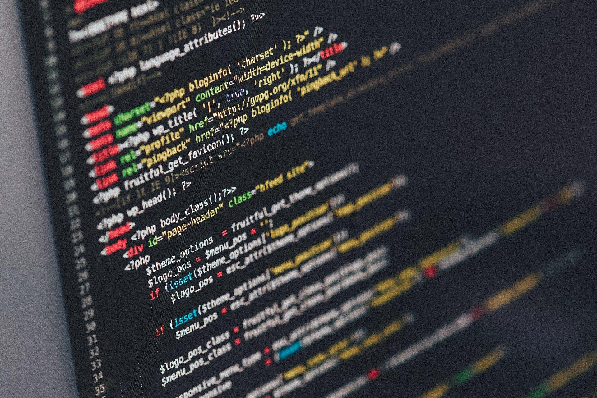 Editor de código HTML de codificación
