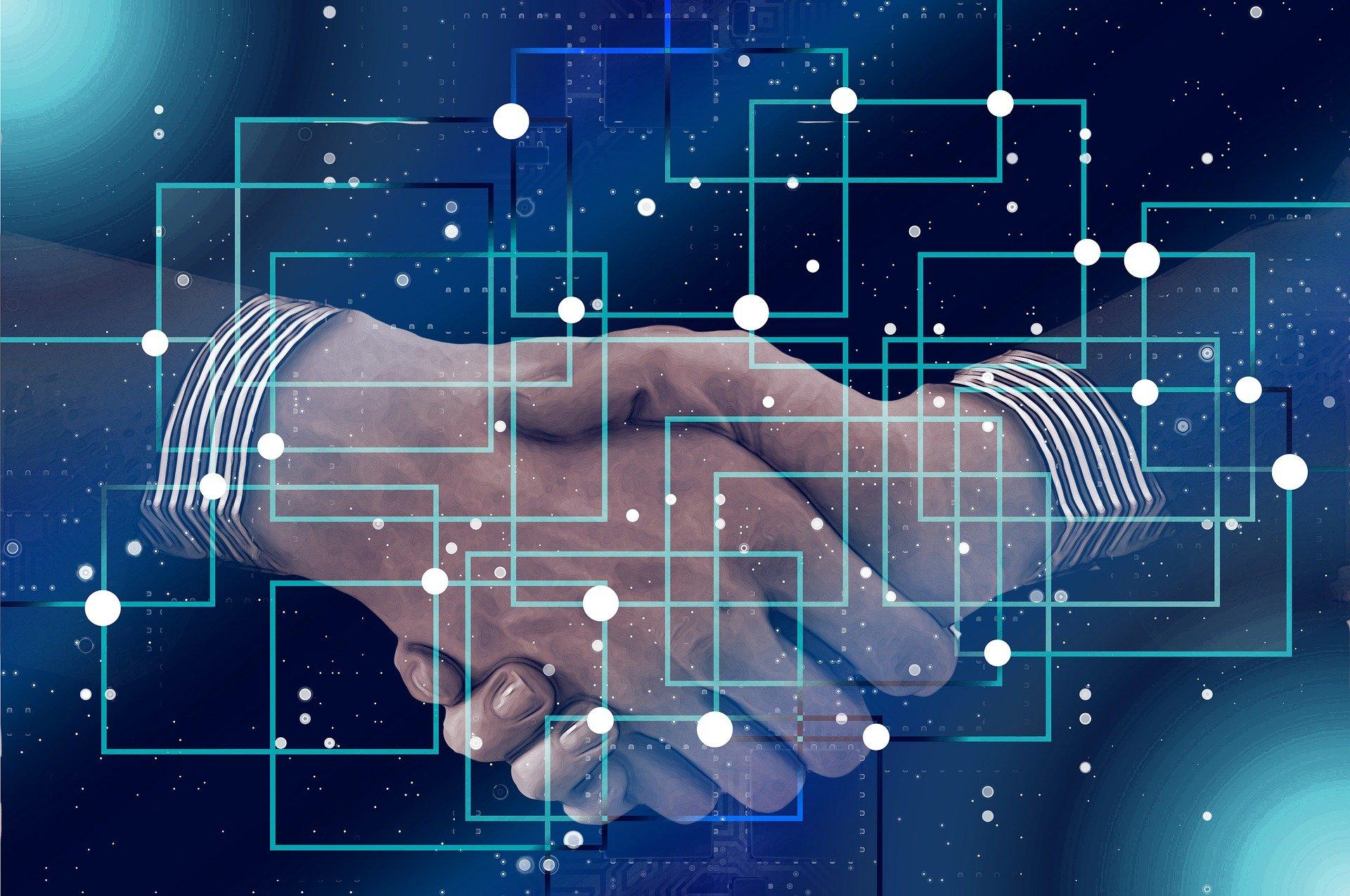 Blockchain y apretón de manos: mecanismo de consenso