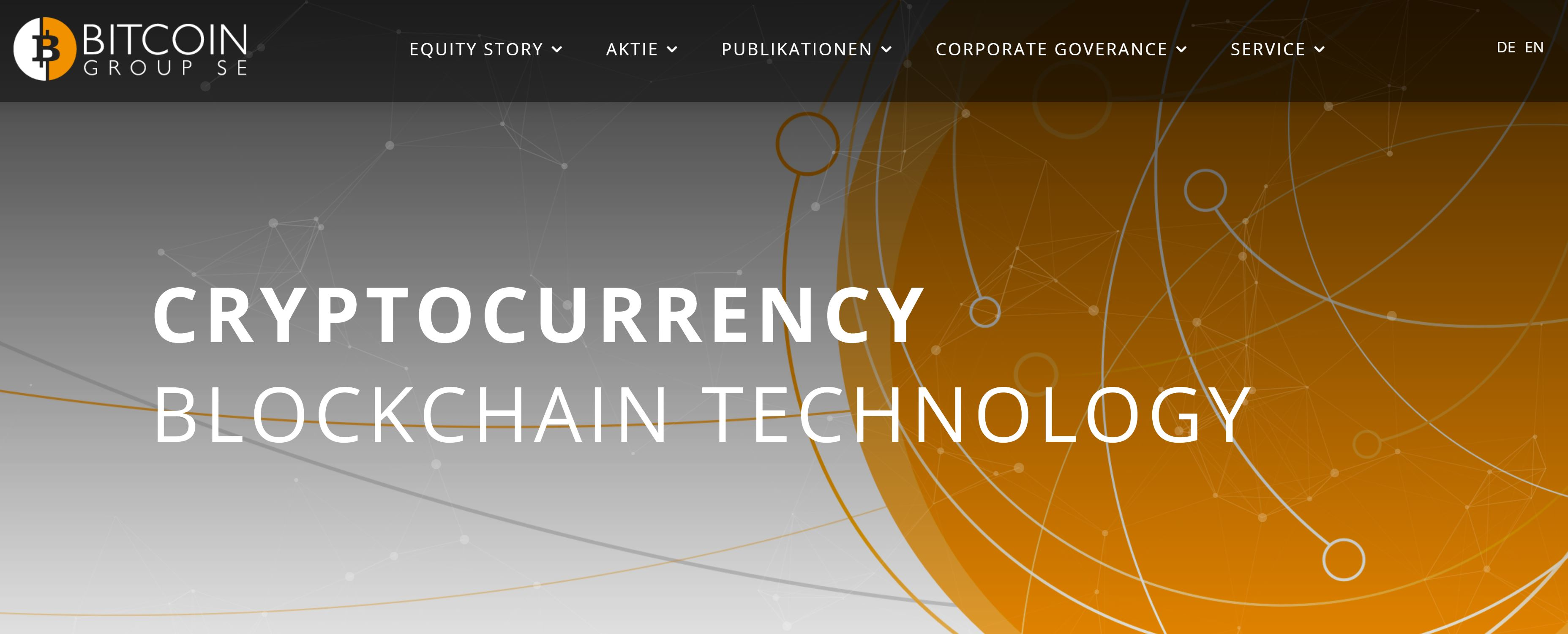 Bitcoin.de belongs to the Bitcoin Group - Homepage