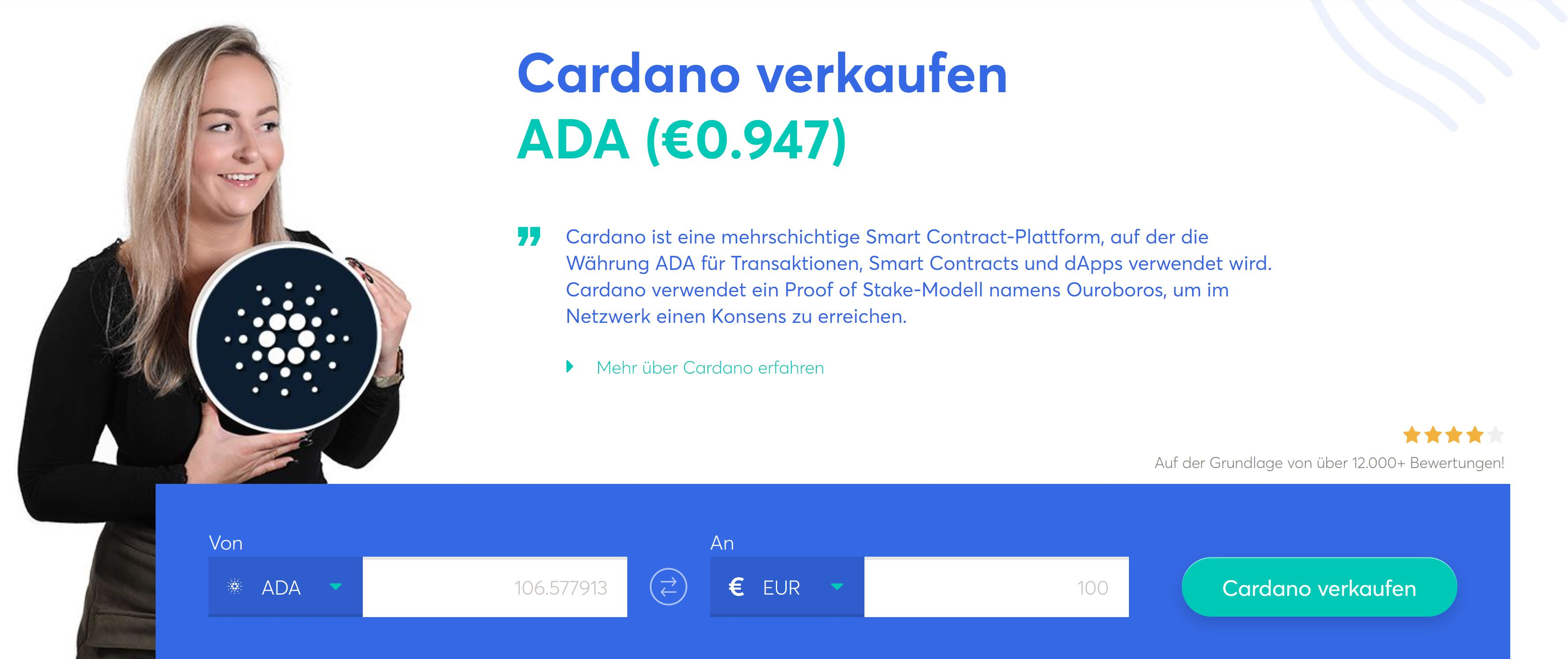 Vendre Anycoin Direct Cardano - Options de trading