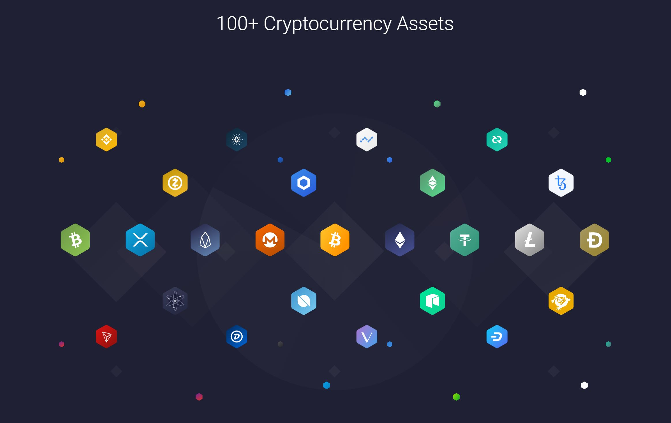 Exodus Wallet supported cryptocurrencies