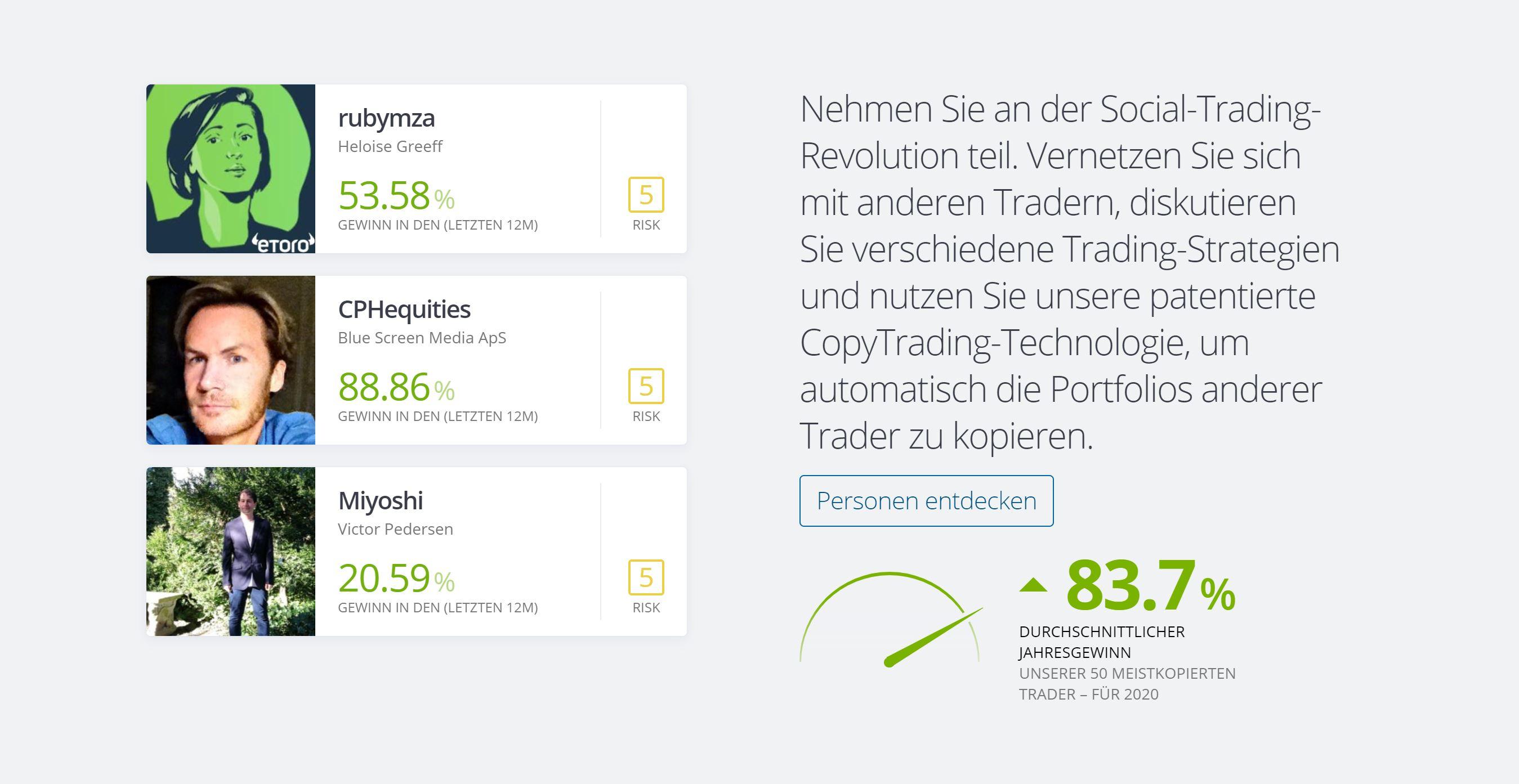 eToro Social Trading forklart