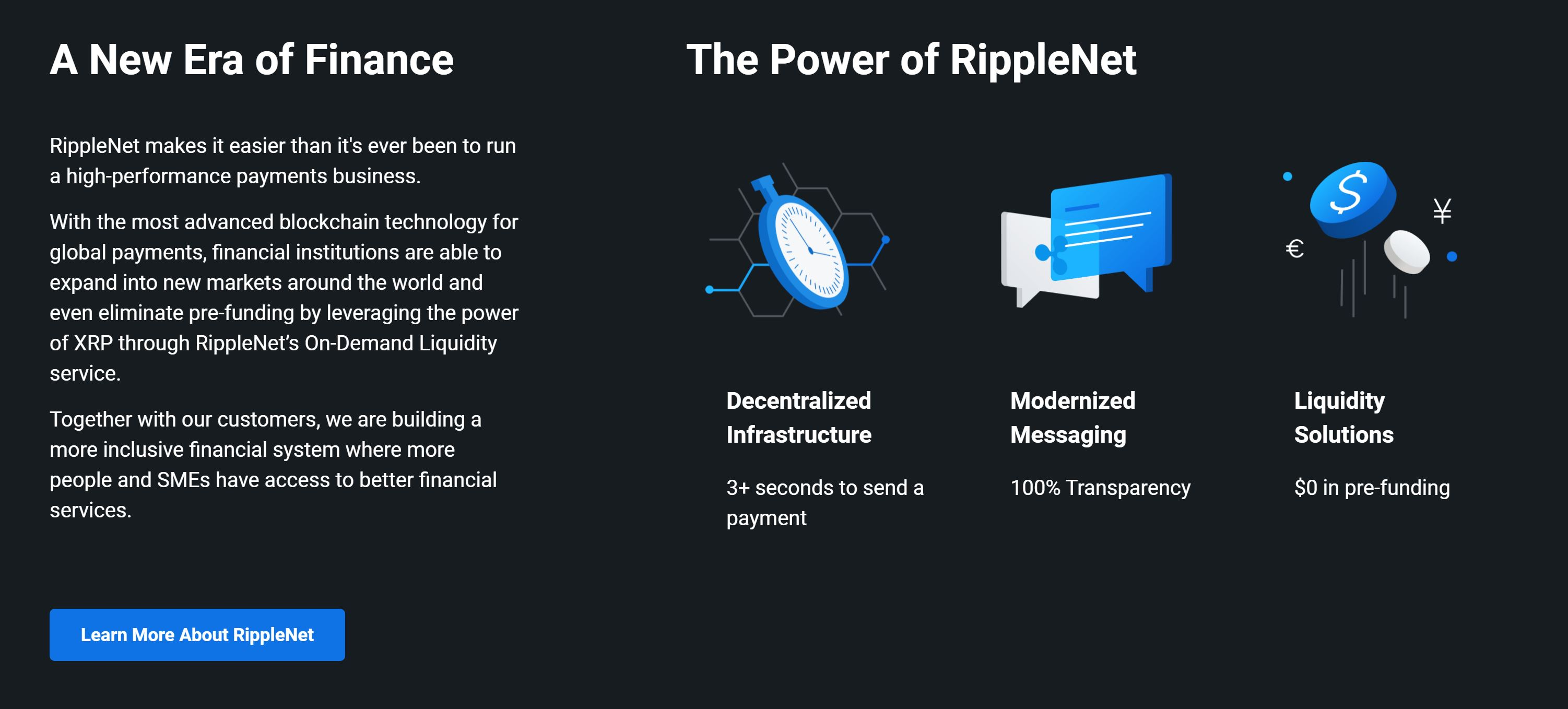 Ripple Vorteile des Ripple Networks erklärt