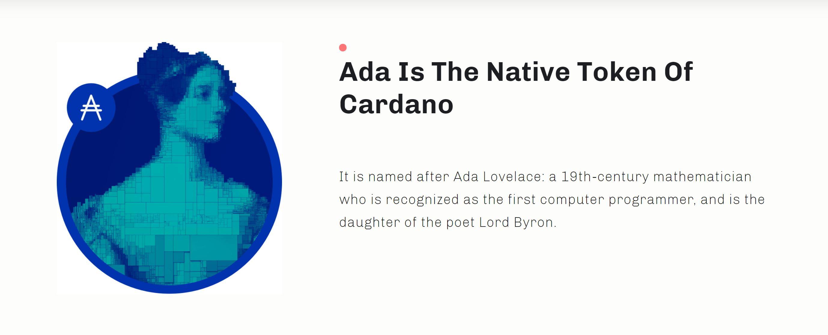 Moneda Cardano ADA