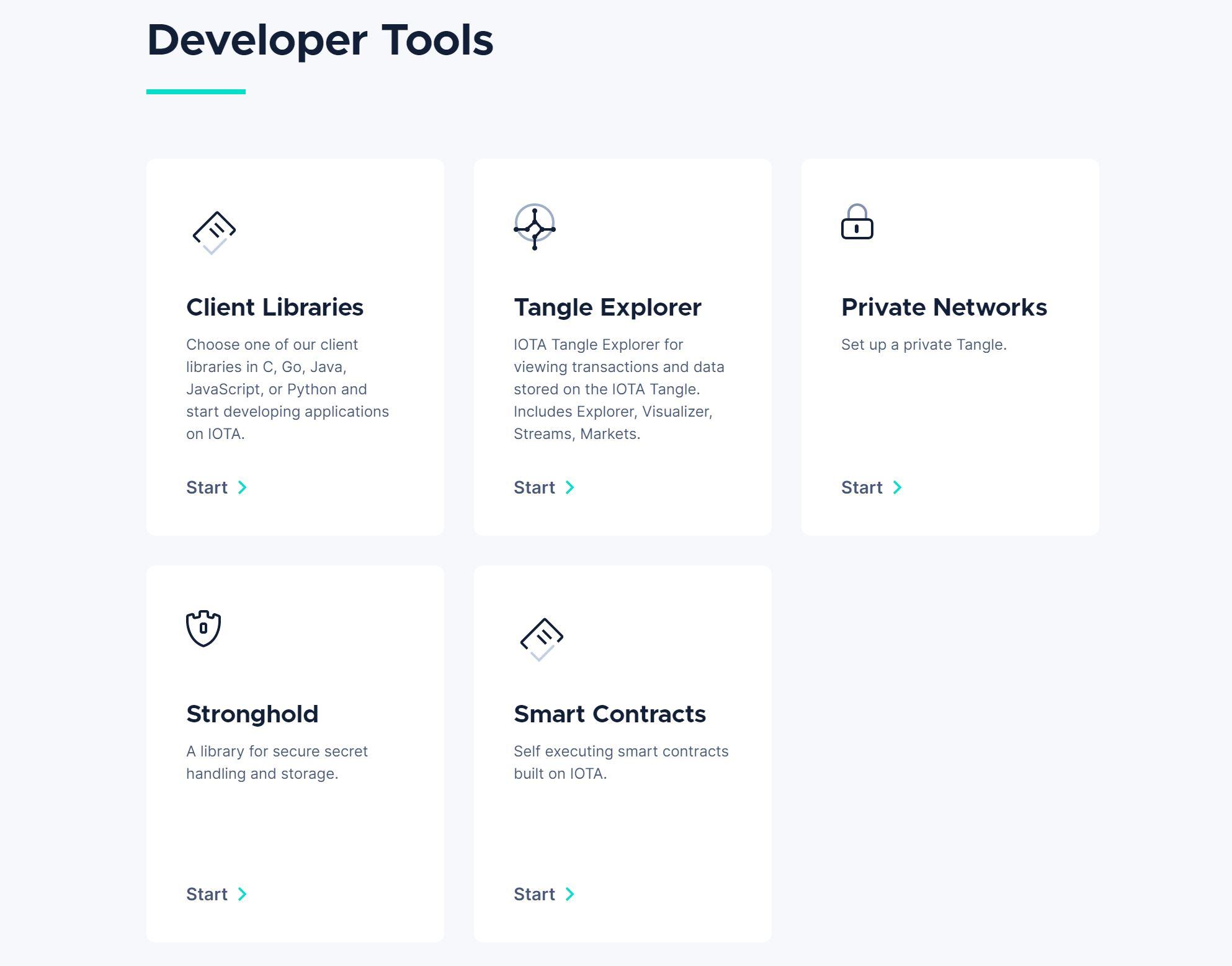 IOTA-ontwikkelaarstools