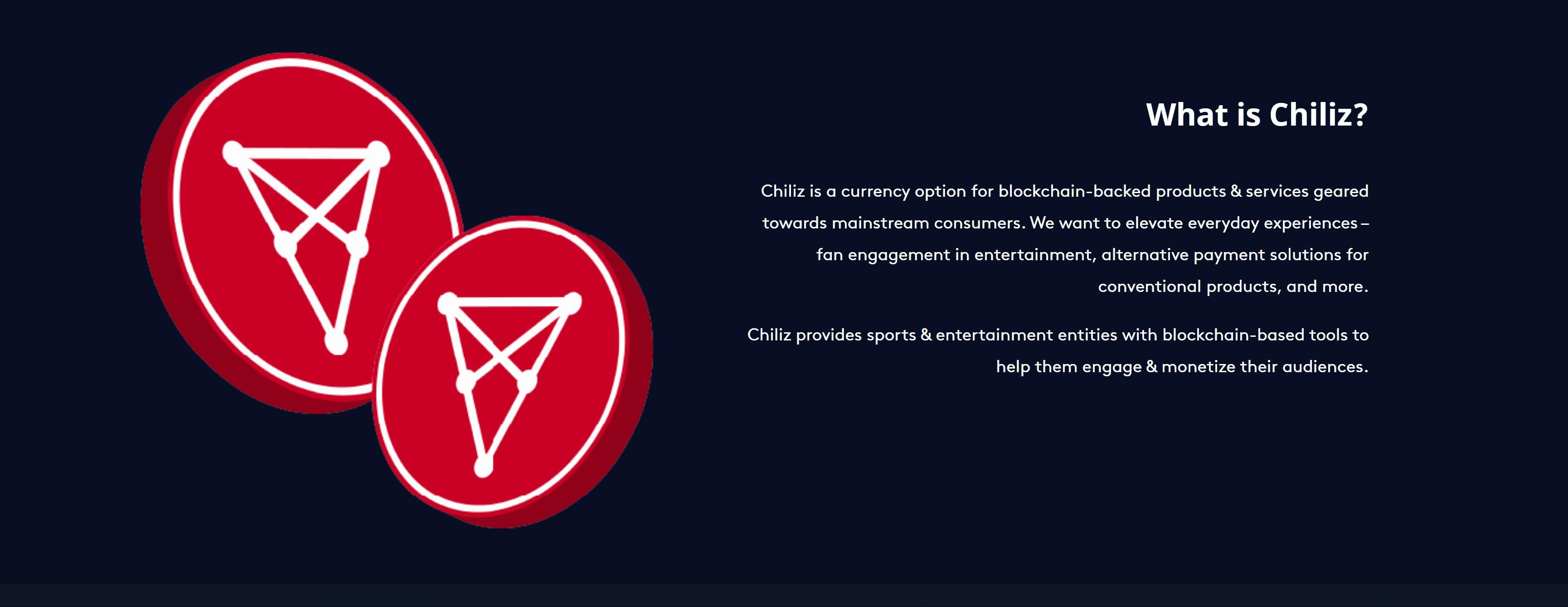 Chiliz crypto project explained