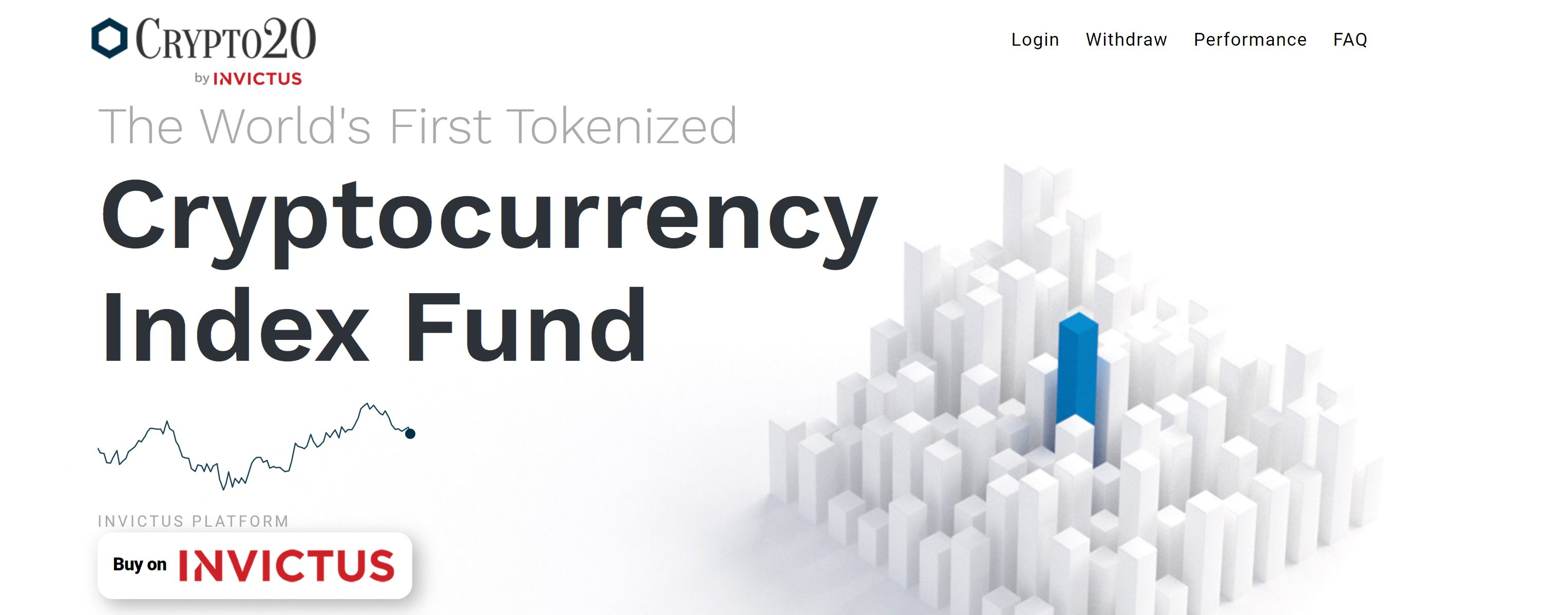 Crypto 20 Webseite