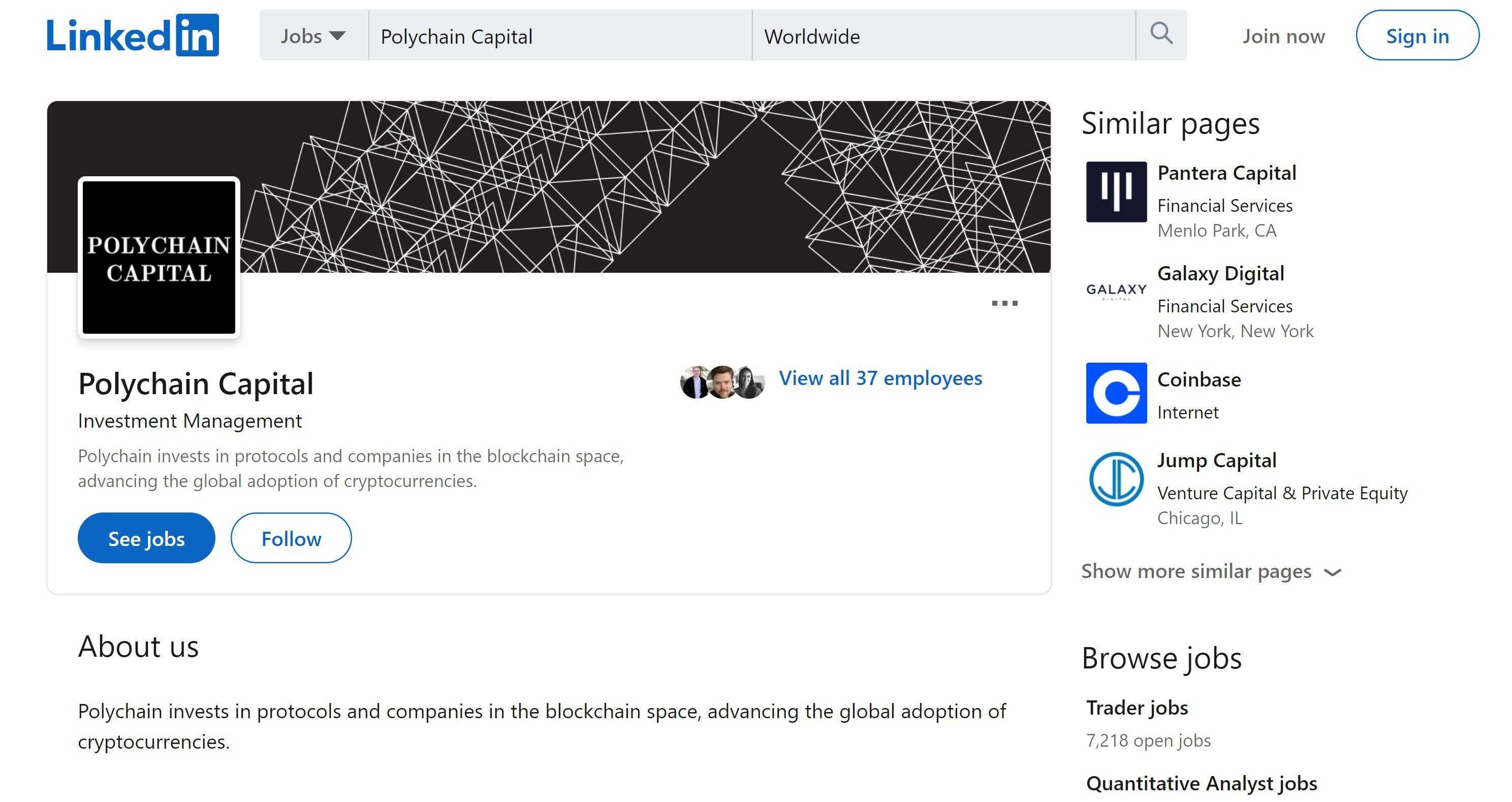 Polychain Capital LinkedIn