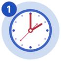 #1 A clock