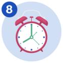 #8 An alarm clock