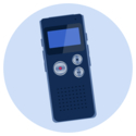 A voice recorder