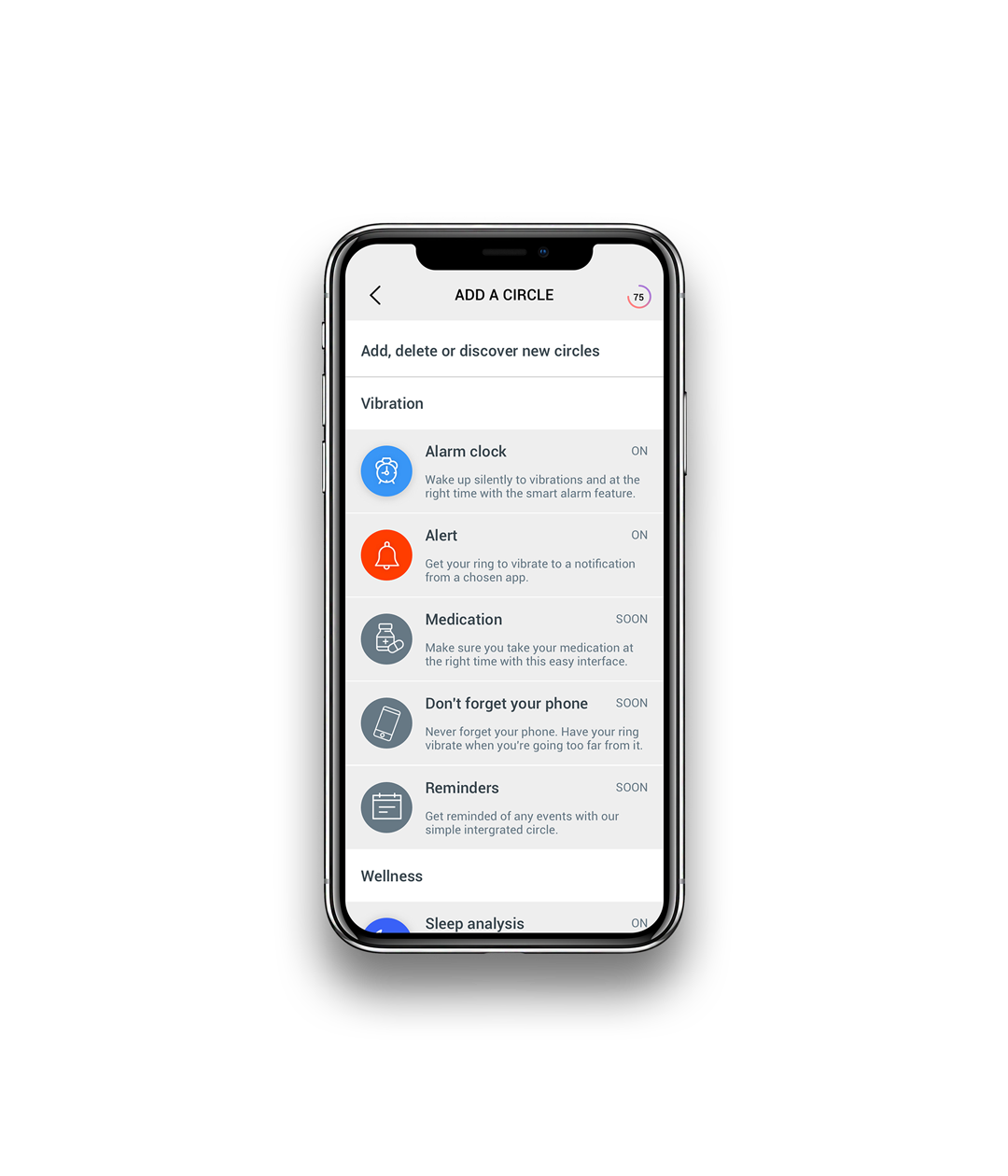 Circular App Add A Circle