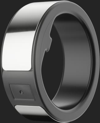 Silver Circular Ring