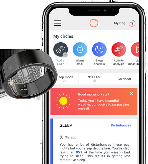 Circular App Home Page