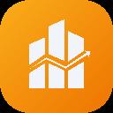 A logo image of the Seller Metrix app