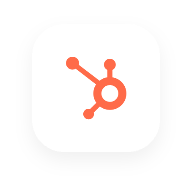 A logo image of Hubspot