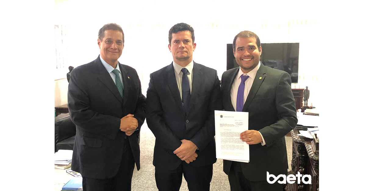 Lucas Vergilio solicita ao Ministro Sergio Moro ações enérgicas contra associações de proteção veicular