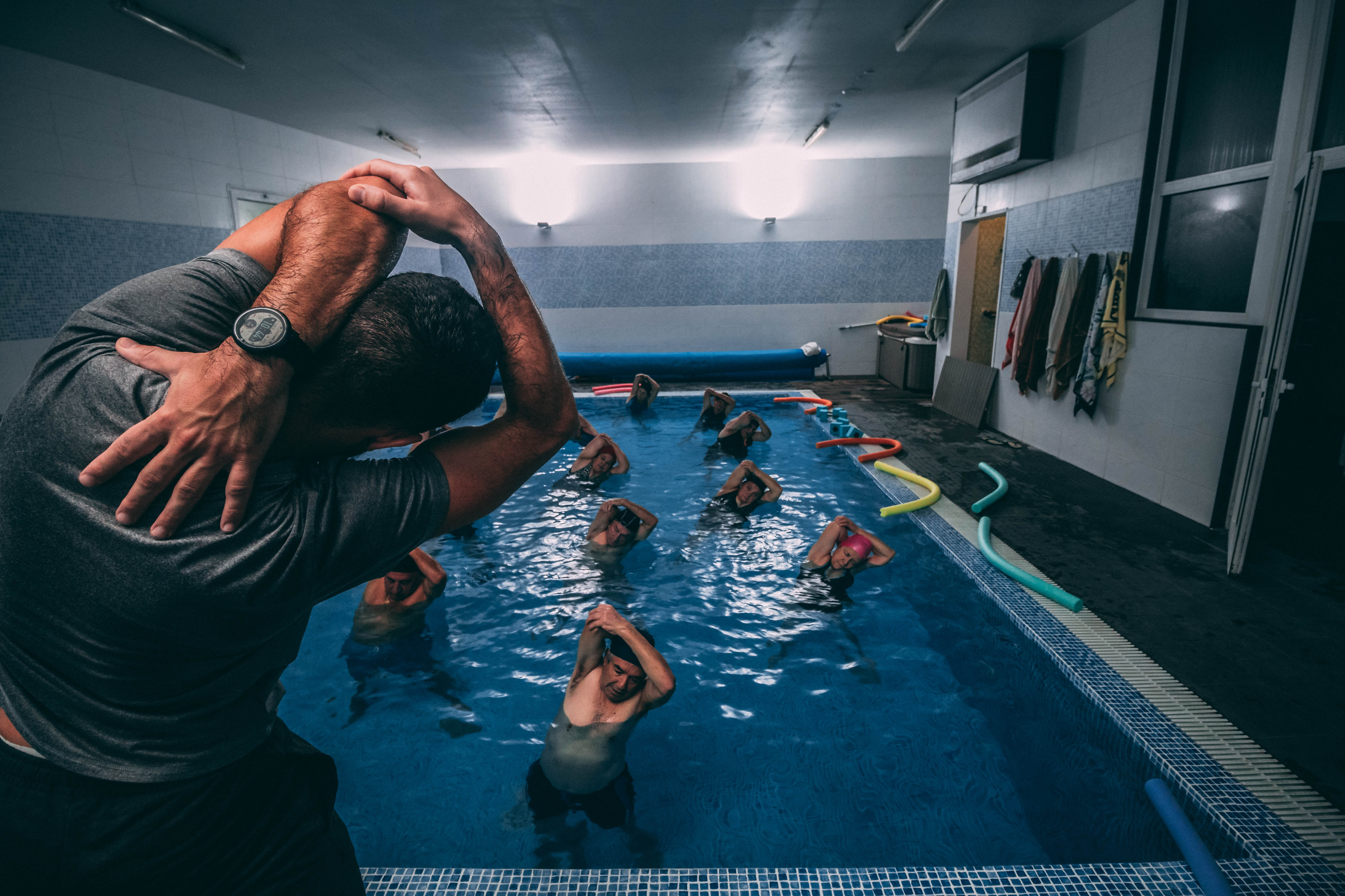 Aquatic physiotherapy