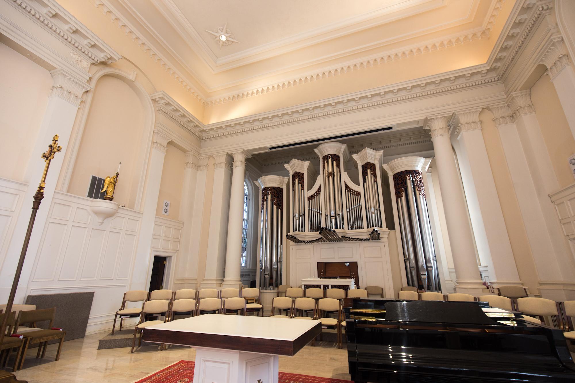 The Organ of the Church of the Abiding Presence