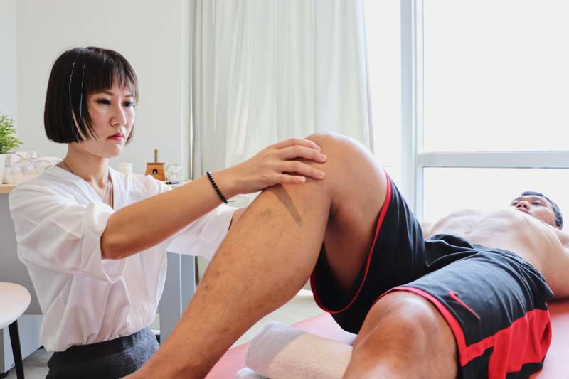 Dr Xiang Jun's TCM treatment for physical pain