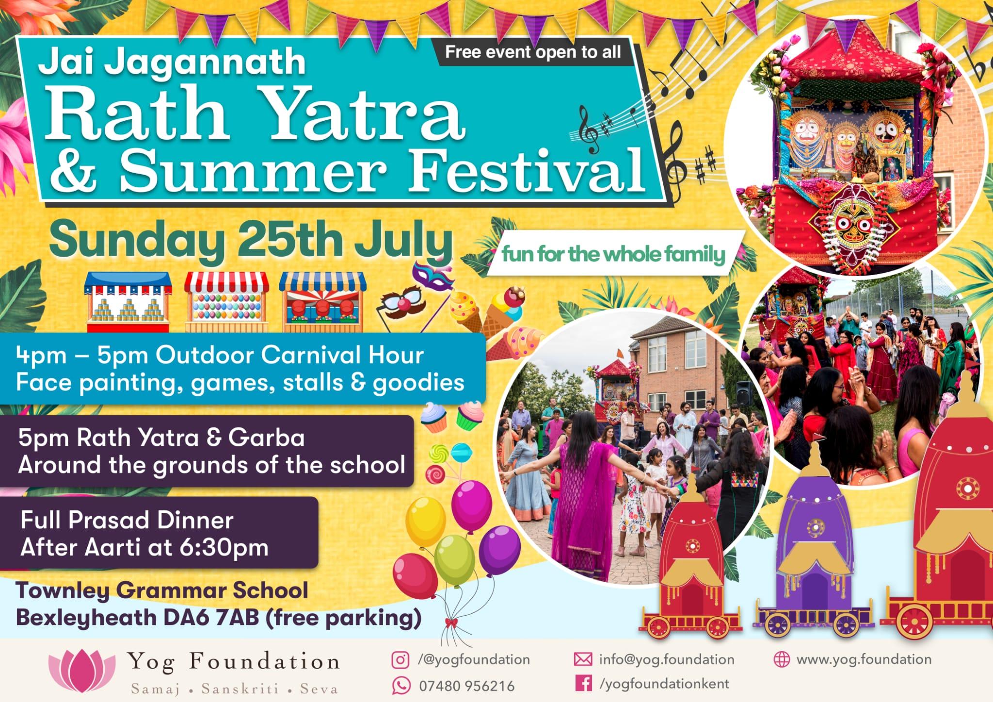Rath Yatra & Summer Festival 2021