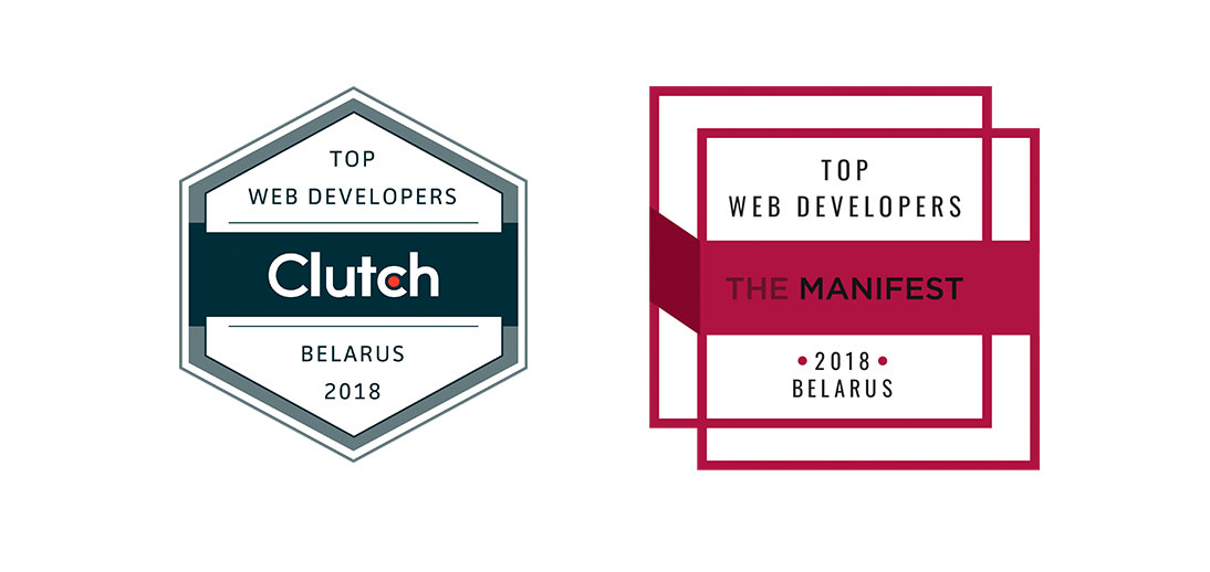 Clutch.co and TheManifest badges