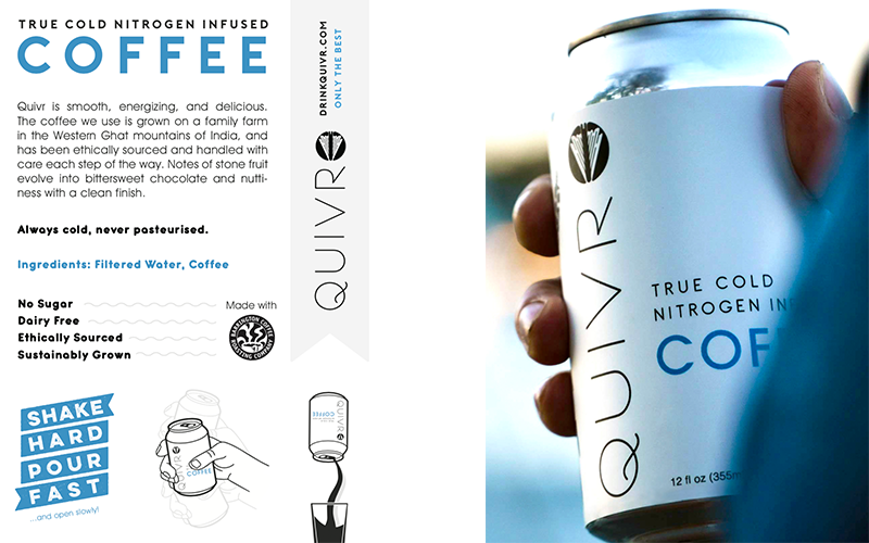 Thumbnail of the Quivr Coffee Postcard