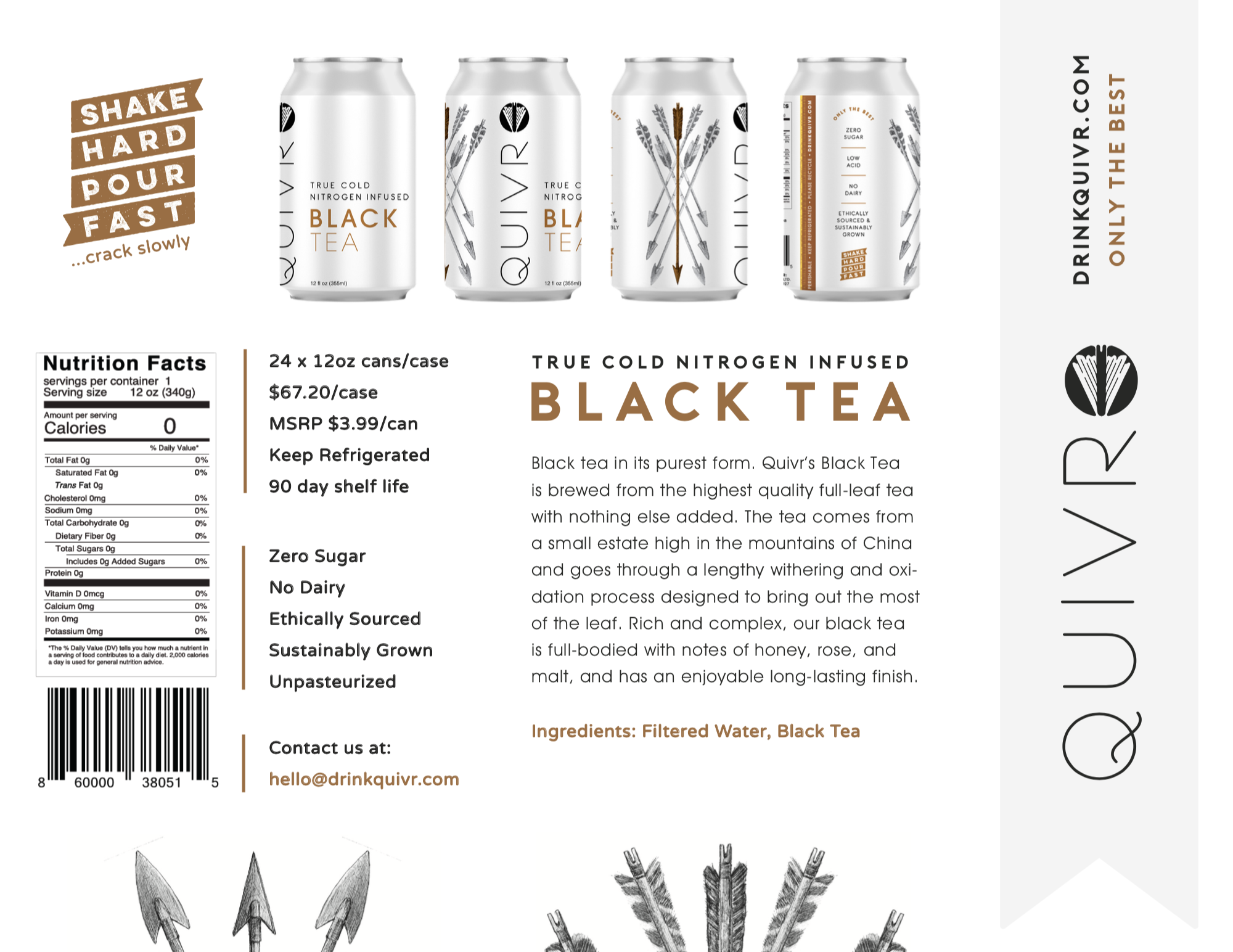Thumbnail of the Quivr Black Tea One-pager
