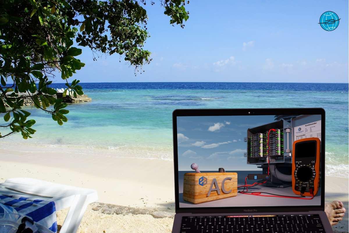 Siprotec, DigitalTwin, Digital Twin, Siemens DigitalTwin, Siprotec DigitalTwin, Schutzprüfung auf den Malediven