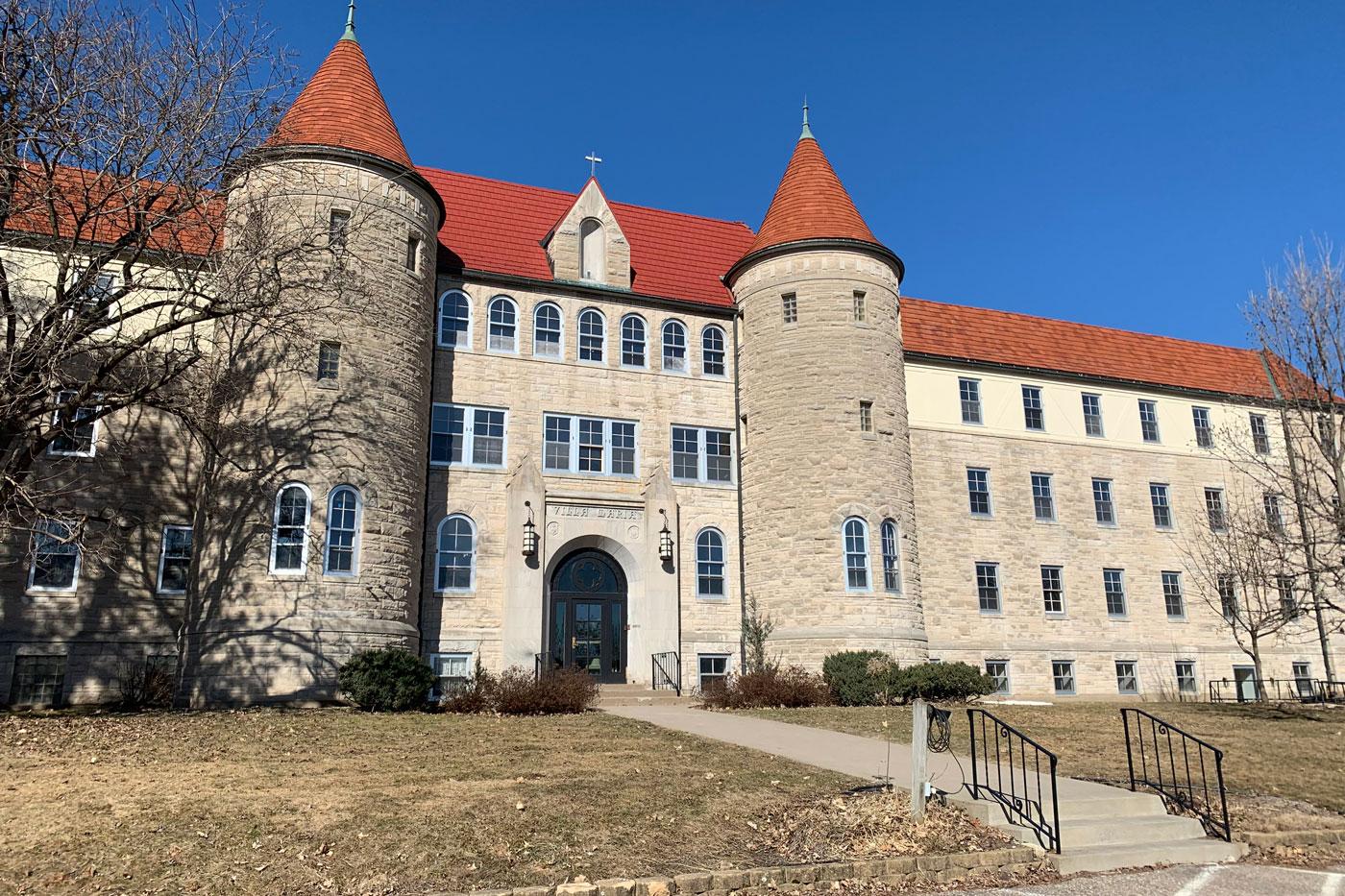 Villa Maria castle exterior