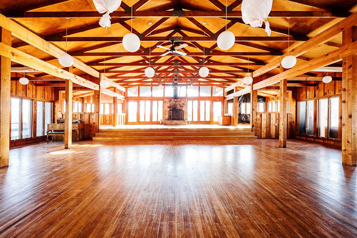 event space dance floor