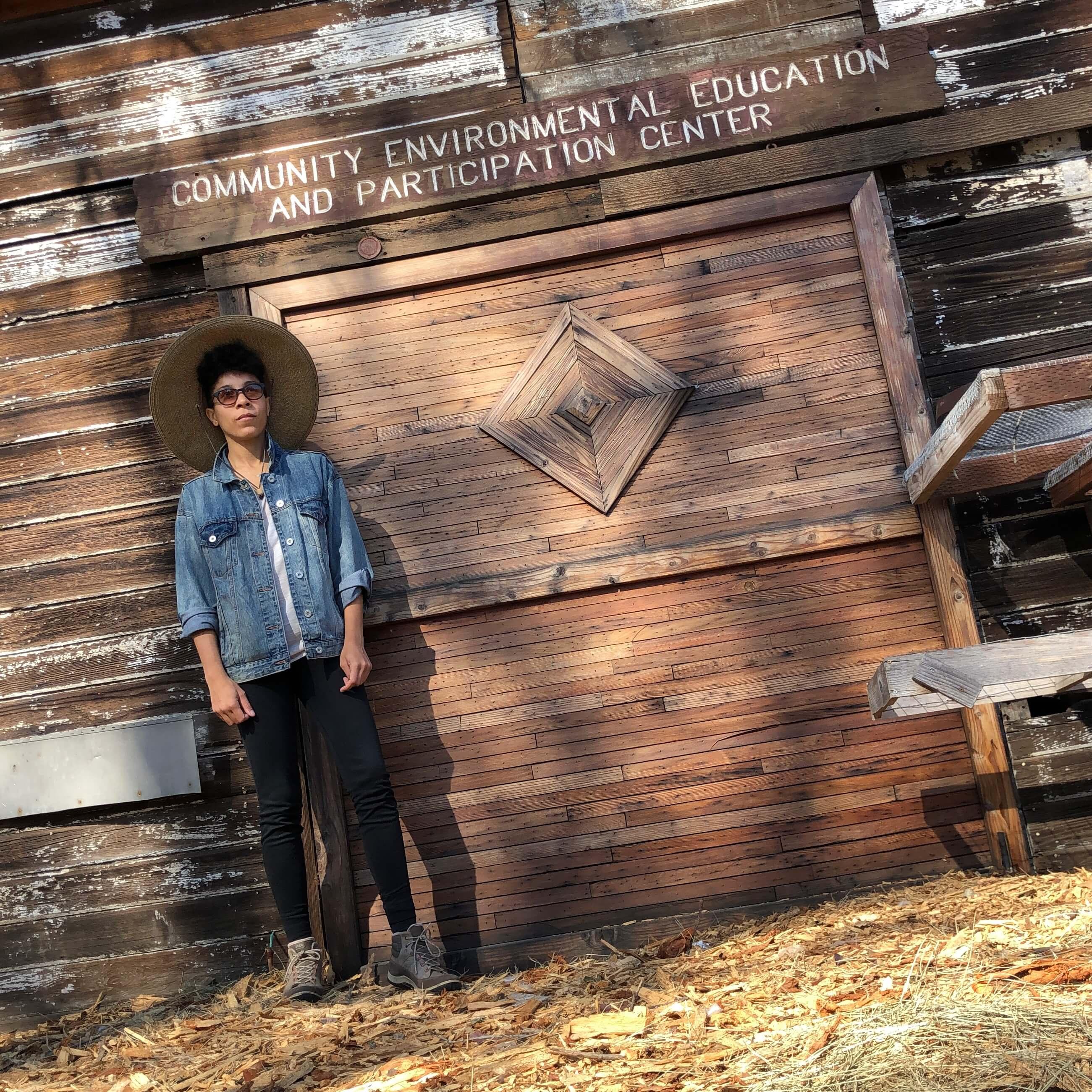 Jamie Renee Williams at Cottonwood Urban Farm