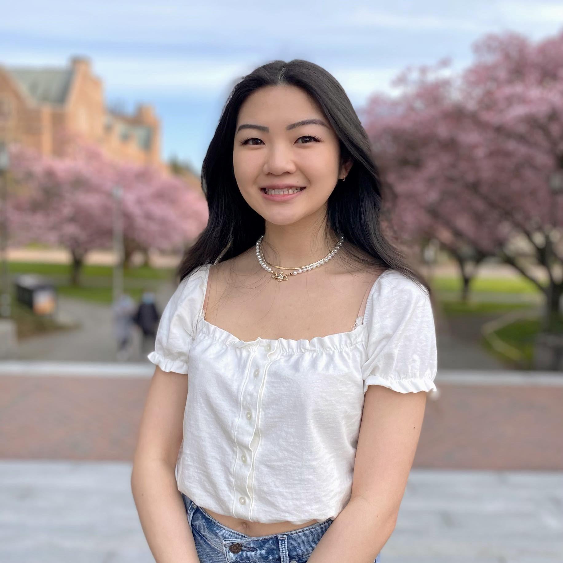 Lab Photo of Sophia Chiang