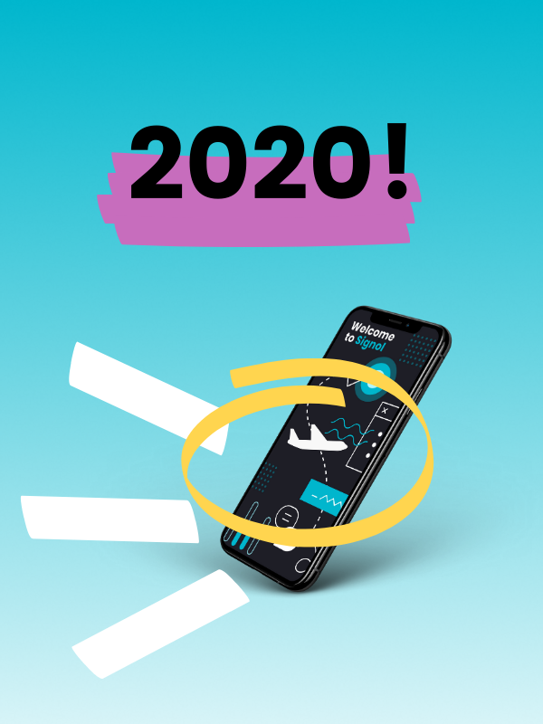 As a new startup servicing the aviation industry, 2020 has been a challenging year for Signol. Still, our team of behavioral scientists, economists, product developers, and airline experts have pulled through. We have big plans for 2021, but for now, let's take a look at our highlights from 2020.