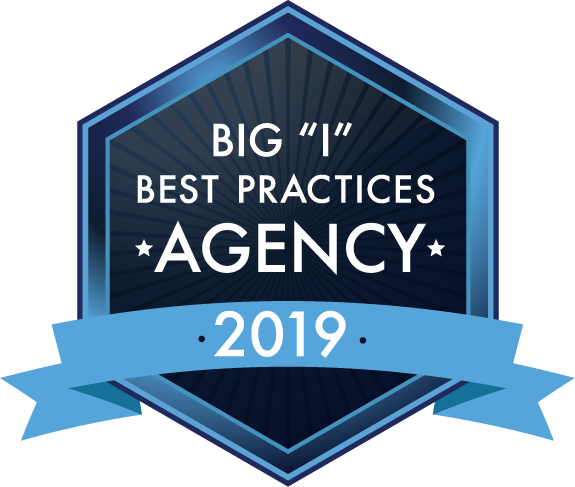 "Big ""I"" Best Practices Agency logo 2019"