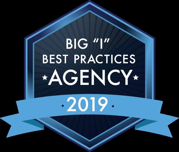 "Big ""I"" Best Practices Agency logo 2019"