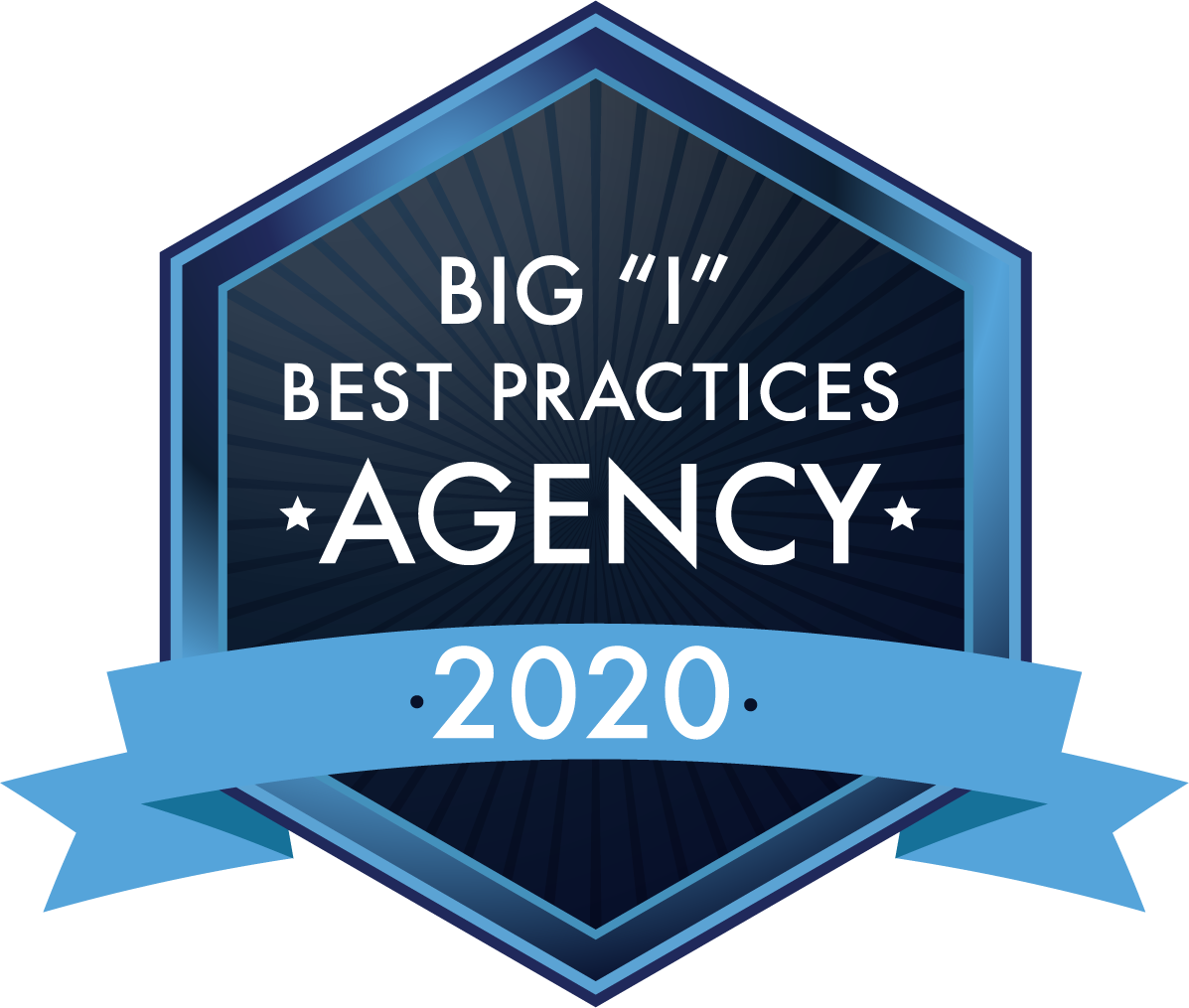 "Big ""I"" Best Practices Agency logo 2020"