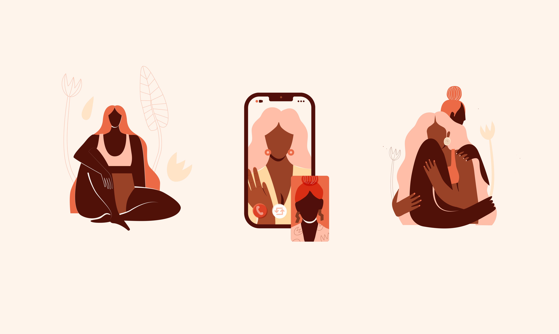 3 illustrations