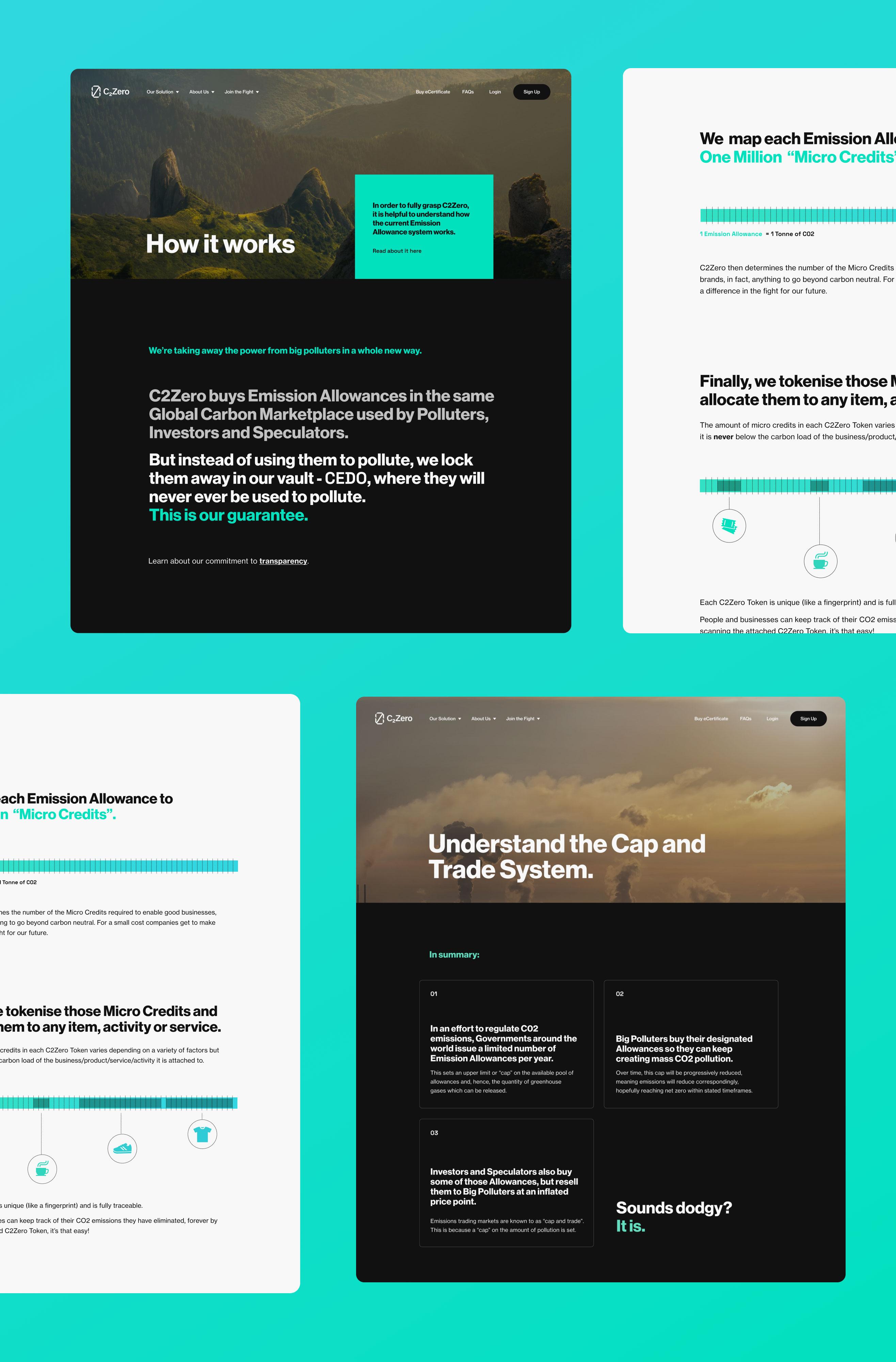 Caia Homepage