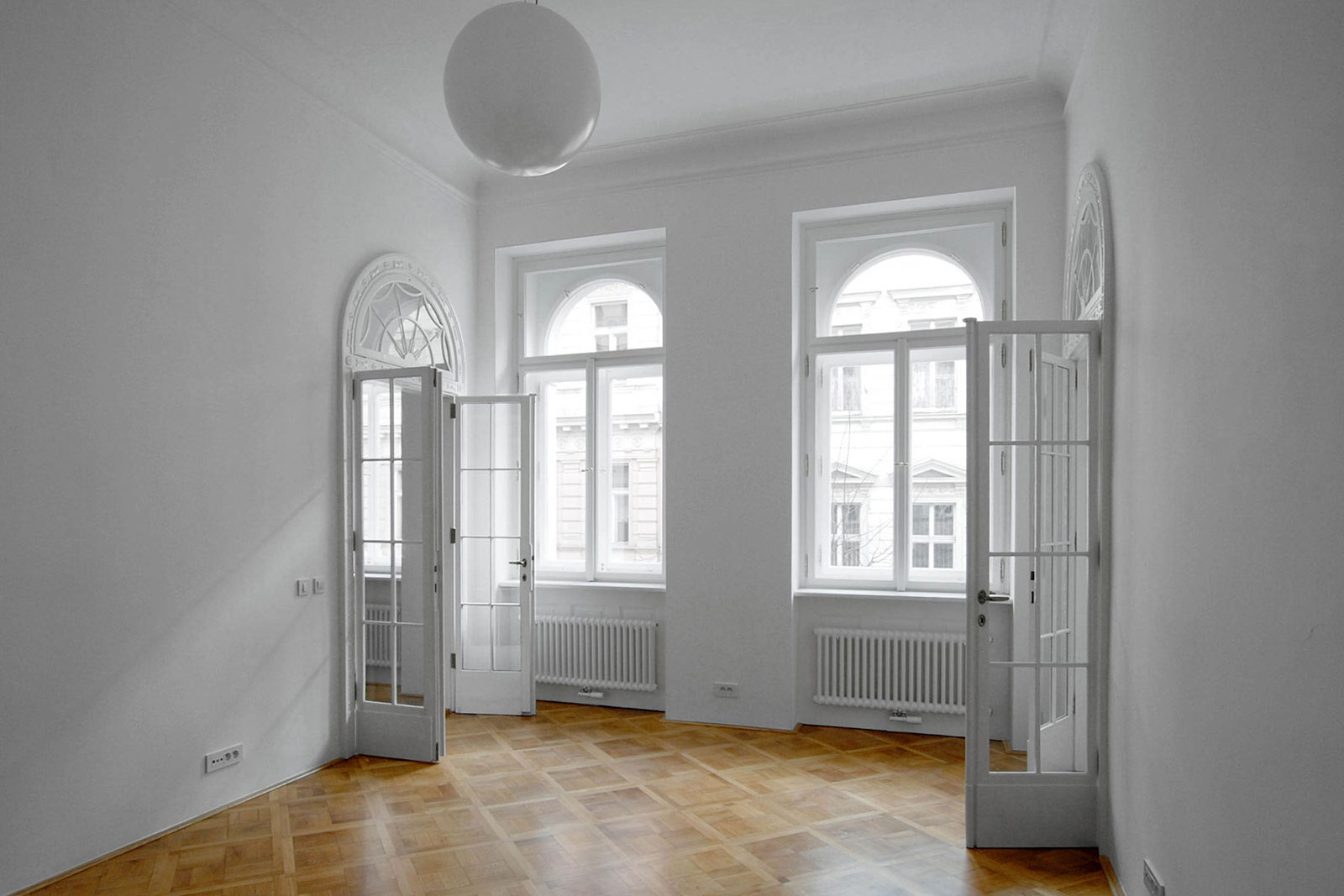 Rekonstrukce bytu na Vinohradech