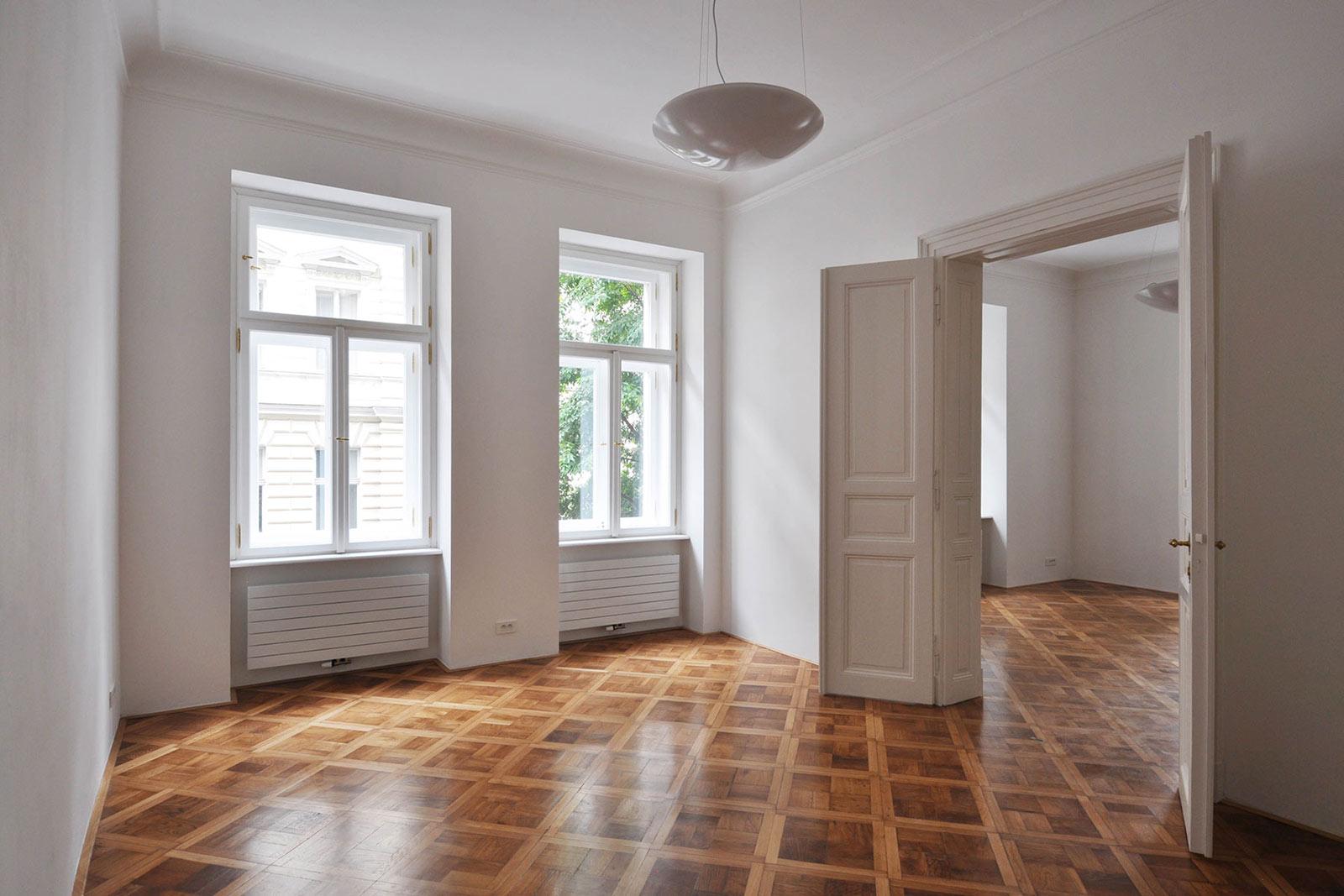 Moderní rekonstrukce bytu na Vinohradech