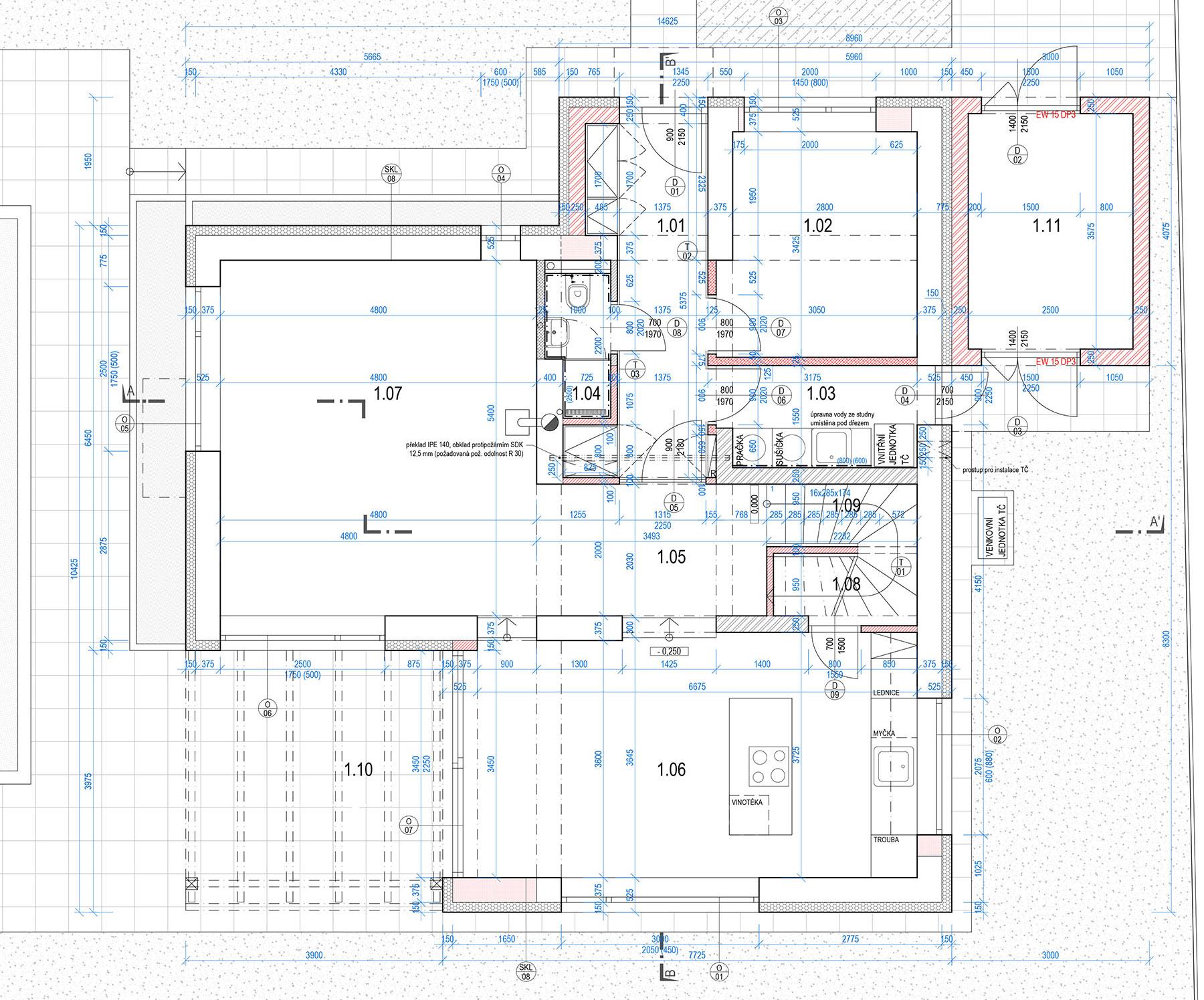Dokumentace pro provedení stavby (DPS)