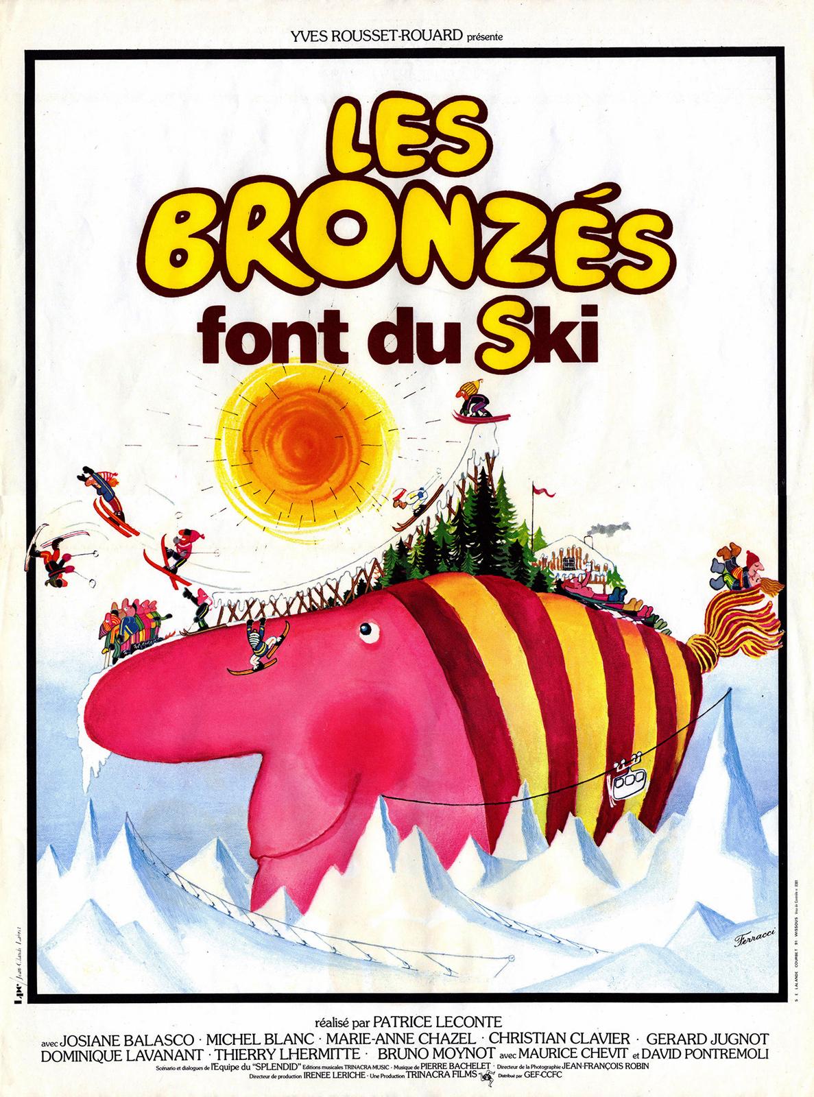Achat Les Bronzés font du ski en Blu Ray - AlloCiné