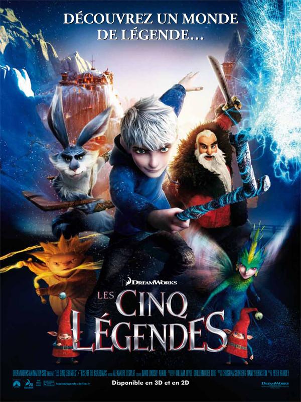 Les Cinq légendes - film 2012 - AlloCiné